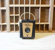 RARE Black Sabre 620 Box Vintage Camera by GallymoggerShoppe, $65.00