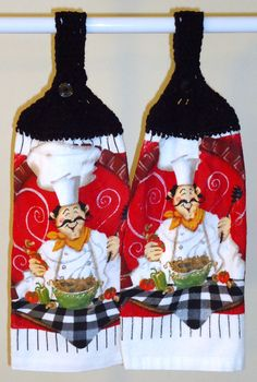 French Chef Kitchen Towels
