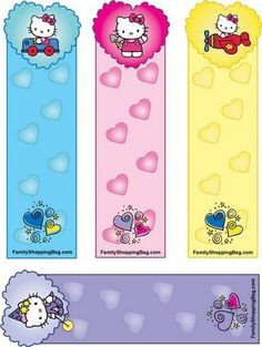 MARQUES PAGES HELLO KITTY