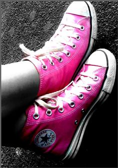 Pink.Converse.Color.Splash