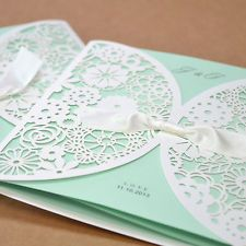 Top 10 Laser Cute Elegant Wedding Invitations Pinterest Tiffany