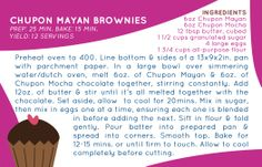 Chupon Mayan Brownies made with the hand cut chocolate shavings from Chupon Chocolate. Get your shavings at www.chuponchocolate.com