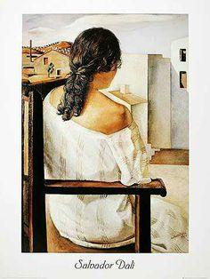 Salvador Dalí - Muchacha de Espalda