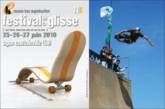 skate chair - LASBLEIZ design