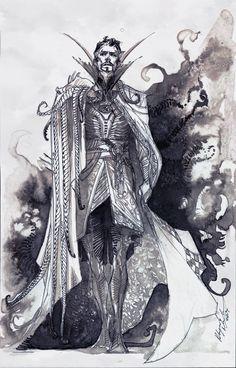 New concept art tutorial character star wars Ideas Marvel Doctor Strange, Marvel Comics Art, Marvel Fan, Dr Strange Cloak, Comic Character, Character Design, Doctor Strange Benedict Cumberbatch, Concept Art Tutorial, Desenho Tattoo