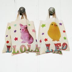 Easter bags Rocket and Bear