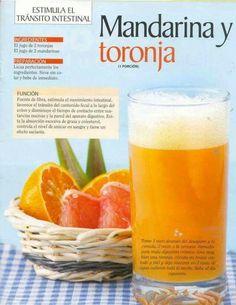 Mandarina y toronja