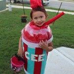 Little Icee Halloween Costume by Marina Rodriguez | Inhabitots Green Halloween Costume Contest
