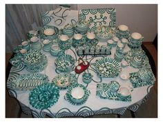 Gmunder-I really need all of this Green Earth, Ceramic Pottery, Austria, Ceramics, Traditional, Tableware, Projects, Inspiration, Homeland