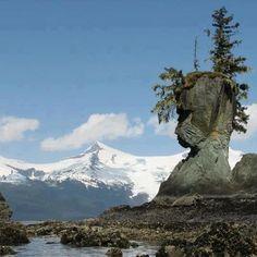 Natural Rock Face, Alaska.|| #formation #nature #wilderness