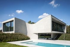Villa MQ in Tremlo, Belgium by Office O Architects - Photo © Tim Van de Velde.