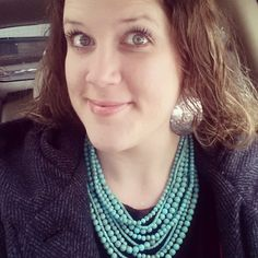 Sea Spray earrings and Acapulco necklace from #premierdesigns