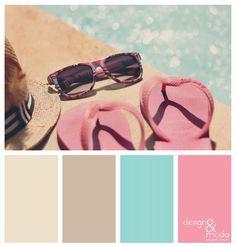 Design e Moda: Paletas de cores!
