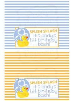 The Busy Budgeting Mama: Featured Client-Rubber Ducky Party Theme