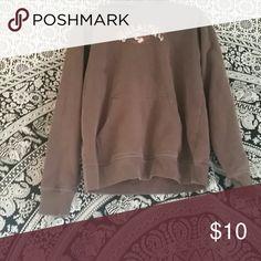 M Bila bong Sweatshirt Great condition, just missing strings. No stains. (NOT WORN A TON.. BROTHER PREFERS FLANELS+BAND TSHIRTS) Billabong Tops Sweatshirts & Hoodies