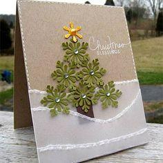 Xmas tree cards