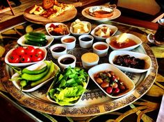 How about a Traditional turkish breakfast like this on your vacation? #Bodrum #Turkey