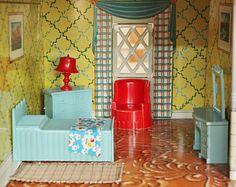 191 Best Vintage Plastic Dollhouse Furniture Images Vintage