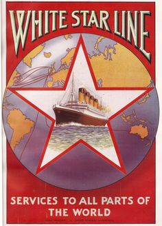 White Star Line - Services to All Parts of the World advert - 1926