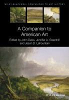A companion to American art / edited by John Davis, Jennifer A. Greenhill, and Jason D. LaFontain Malden, Mass. : Wiley-Blackwell, 2015 #novetatsbellesarts #juliol  #CRAIUB