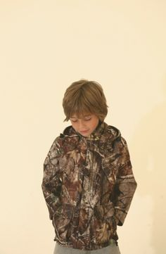 A bark print jacket is one of the few boy specific items at Popupshop for spring 2014 kids fashion