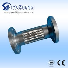 Metal Hose Connector with flange ends, Size: DN15~DN100. Working Pressure:1.6~6.4MPA Application: Water and Oil Industry. At the same time, we also produce stainless steel ball valve, check valve, gate valve, butterfly valve, strainer and so on.Contact: David.   Email &Skype: export1@yuzheng-valve.com. Mobile: +86 18058723339 Metal Hose, Butterfly Valve, Gate Valve, Stainless Steel Pipe, Oil Industry, Industrial, David, Water, Check