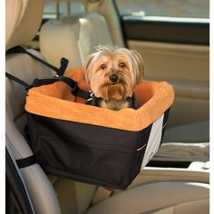 Skybox Pet Booster Seat. A soft window seat for your pup.