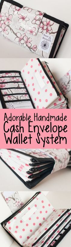 omgosh. this Dave-Ramsey style cash envelope wallet is SO adorable! ♥️  #ad #daveramsey #frugalliving #money