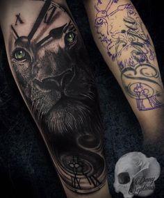 Forearm Cover Up Tattoos, Forarm Tattoos, Wolf Tattoos, Black Tattoos, Tribal Tattoos, I Tattoo, Lion Tattoo Sleeves, Sleeve Tattoos, Tattoo Videos