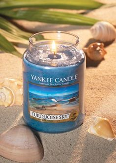 http://www.bkgfactory.com/category/Yankee-Candle/ A getaway for your senses! Turquoise Sky, from Yankee Candle