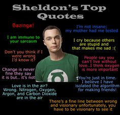 sheldon quotes Big Bang Theory Quotes
