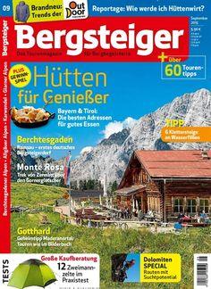 Hütten für Genießer - Bayern & Tirol. Gefunden in: Bergsteiger - Das Tourenmagazin - epaper, Nr. 9/2015