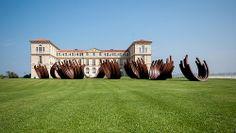 84 Arcs- Désordre 2013 | Bernar Venet |  jardins du Palais du Pharo | Marseille | France