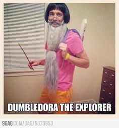 Hahhahhahahaha The best Halloween costume ever!