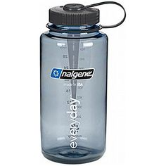 Nalgene 32 Oz Wide Mouth Tritan Everyday  Gray W Black Cap  3 Pack -- Learn more by visiting the image link.