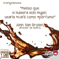 #caféyfamosos El amor por esta bebida no tiene límites