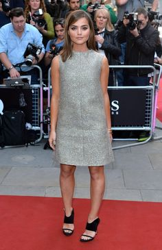 Pin for Later: La Soirée GQ Men of the Year Awards Etait Très Sexy Jenna Coleman