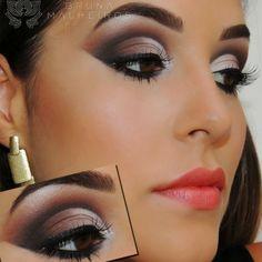 Blog Thati Maforte Tudo para Maquiagem: Maquiagem Inspiração - Bruna Malheiros