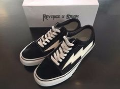 Revenge X Storm Vans Old school | Clothing, Shoes & Accessories, Men's Shoes, Athletic | eBay!