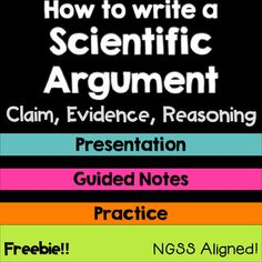 Tired of getting lackluster responses in science Feeling down about your students conclusions Help them write meaningful responses and strong scientific arguments with th. Scientific Writing, Science Writing, Scientific Method, 6th Grade Science, Middle School Science, Physical Science, Science Education, Health Education, Physical Education