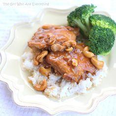 Cashew Chicken (Slow Cooker)