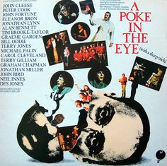 A POKE IN THE EYE (with a sharp stick)  LIVE COMEDY LP  JOHN CLEESE/PETER COOK~~