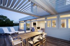 Homes built for living Indoor Outdoor Living, Outdoor Rooms, Outdoor Decor, Outdoor Entertaining, Building A House, Modern Design, Brick, Photo Galleries, Ambition