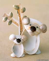 Shell Craft. So this what I can do with all the shells from the ocean