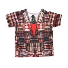 """Sierra Julian """"Giordano"""" Madras Vest & Tie Tee"""
