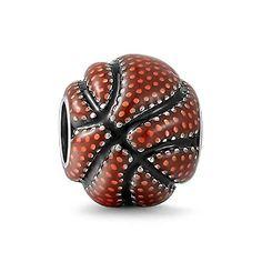 Soufeel 925 Argent Massif Basket-ball Charm Compatible Europeen Pour Charms Colliers Bracelets