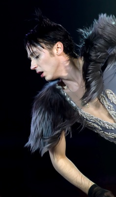 Leaning Into the Light | Binky's Johnny Weir Blog. Photo © David Ingogly.