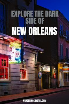 Dark Travel in New Orleans, things to do in New Orleans, Spooky things to do in New Orleans, ghost tours in the French Quarter, things to do in the french quarter New Orleans, French Quarter history, tours in New Orleans, cemeteries in New Orleans, Voodoo history in New Orleans, Marie Laveau's House of Voodoo, Voodoo Queen of New Orleans, things to do in NOLA, wanderingcrystal, haunted places to visit in New Orleans, vampires in New Orleans, St Louis Cemetery No 1 #NewOrleans #DarkTravel… St Louis Cemetery, Stuff To Do, Things To Do, Marie Laveau, New Orleans Travel, Ghost Tour, Haunted Places, French Quarter, Dark Side