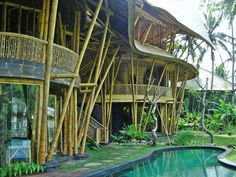 Bamboo house in the forests of Bali, Indonesia [1200x900] : Houseporn