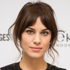 Beauty Tips for the Holiday Season: Part Your Bangs - Beauty Tips to Look Stunning This Holiday Season - Shape Magazine